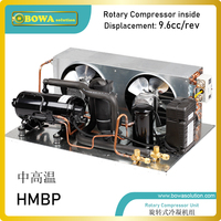 1/2HPair gekühlt kondensierend einheit mit vertikale oder horizontale dreh kompressor ist gute wahl für commerce kälte einheiten-in Gefrierschrank-Teile aus Haushaltsgeräte bei