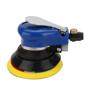 Image 4 - 5/6 인치 비 진공 매트 표면 원형 공압 사포 무작위 궤도 공기 샌더 연마 그라인딩 머신 핸드 툴
