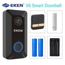 V6 Smart Wireless 720P wifi video Doorbell camera Cloud storage door bell cam wa