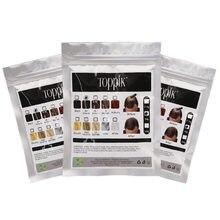 50g fibras de cabelo queratina toppik espessamento spray de construção de cabelo fibras saco perda produtos rebrotamento imediato peruca pós saco pacote