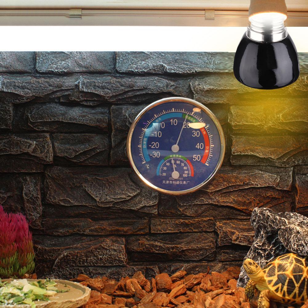 E27 Far-Infrared Ceramic Pet Heating Lamp Lizard Tortoise Spider Reptiles Box Heater Warmer Heat Bulb 25W/50W/75W/100W