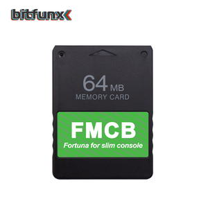 Image 5 - Bitfunx Newest Fortuna FMCB Free McBoot Memory card for Sony Playstation 2 PS2 Slim Game Console SPCH 9xxxx Series