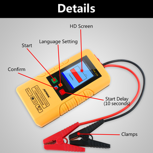 Image 2 - Autool EM335 Batteryless 12V Ultracapacitor Car Jump Starter Instantaneous Super Capacitor Emergency Power Bank Unlimited Use
