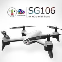SG106 RC Drone 4K 1080P 720P Dual Camera FPV WiFi Optical Flow Real Time Video RC quadcopter (China)