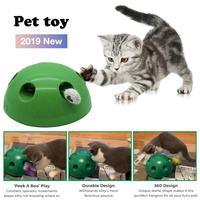 2019 Новая игрушка для кошек, поп-игра, игрушечный мяч для питомца, поп-Н-игра, устройство для чесания, Забавный транинг, игрушки для кошек, точи...