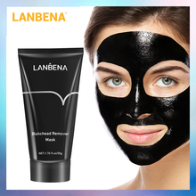 LANBENA Skin Care Black Mask Blackhead Remove Peel Off Nose Mask Face Deep Cleansing Mud Cream Acne Treatment Shrink Pore Beauty