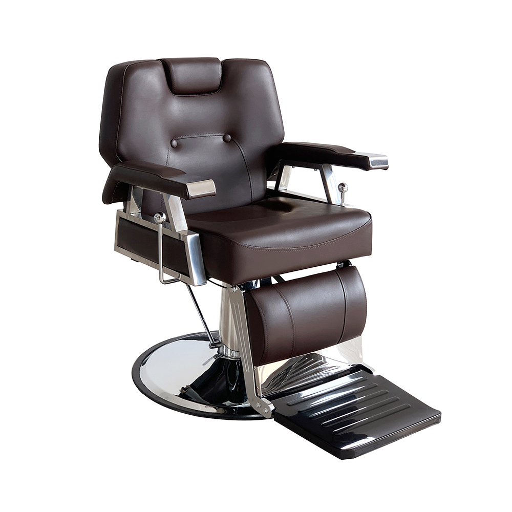 Presale 15% Off Heavey Duty Barbershop Shop Salon Barber Chair Tattoo Beauty Threading Shaving Tilting Back Comfort Chair Black