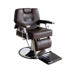 Preventa 15% de descuento tienda de barbería silla para Barbero o salón tatuaje belleza enhebrado afeitado basculante silla negra cómoda