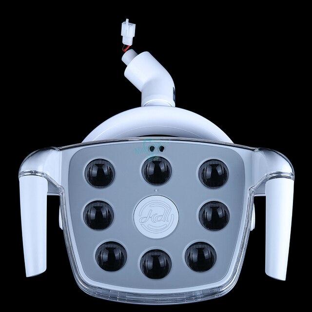1 шт. стоматологический операционный светильник ing светодиодный светильник для имплантата для стоматологического стула холодный светильник без тени с сенсорным экраном