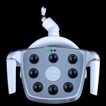 Lámpara LED para implante Dental, sin sombra luz fría con pantalla táctil, 1 Uds.