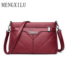 Luxury Handbags Women Bags Designer High Quality Female PU Leather Bag Vintage Ladies Messenger Shoulder Bags Bolsa Feminina цена в Москве и Питере