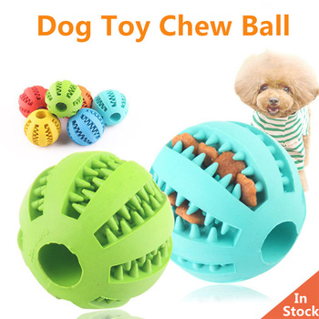 Toys for Dogs Ball Interactive Dog Toys Dog Chew Toys Tooth Cleaning Elasticity Small Big Dog Toys Rubber Pet Toys 1