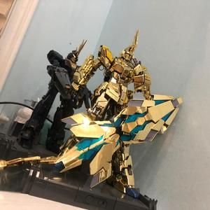 Image 2 - MGJ model DE Shield with tail for Bandai 1/60 PG RX 0 Unicorn Banshee Phenex FA Plan B Gundam  DM025