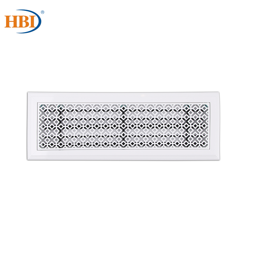 500mm X 150mm Pattern-surplus Year After Year Rectangular Plastic Frame Steel Decorative Air Grille Vent Retro Style Outlet