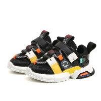 Outono novos meninos e meninas sapatos esportivos do bebê da criança sapatos esportivos moda respirável sapatos de bebê das crianças sapatos casuais|Tênis| |  -
