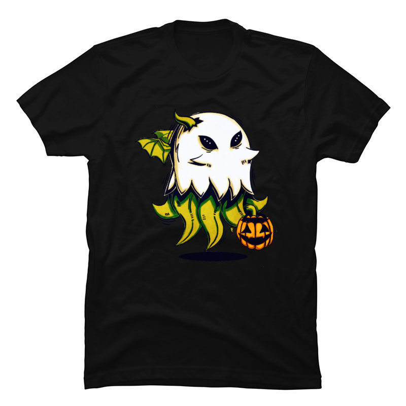 one yona Demon Cthulhu Pumpkin Halloween Casual Top T-shirts High Quality Brand New <font><b>Pennywise</b></font> Game <font><b>Tshirts</b></font> 2019 Latest T Shirt image