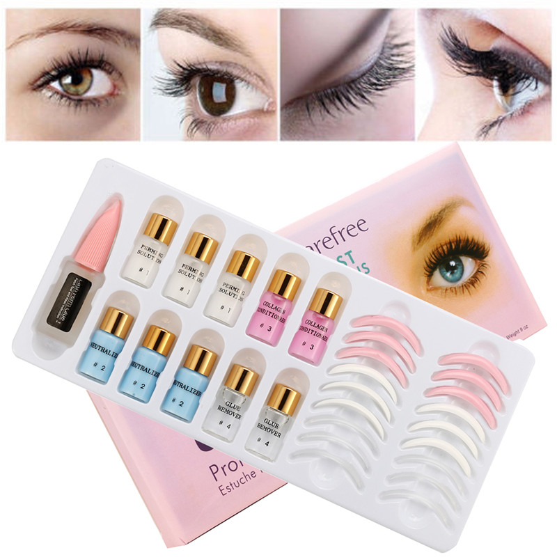 Lash Lift Set Eyelash Lifting Kit Wave Lotion Wimper Perm False Eyelashes Serum Growth Treatments Professional Makeup Tool