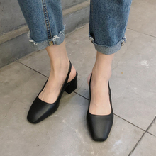 Elegant Vintage Shoes Women Low Heels Black For Flats Autumn 2019 Slip On Ballerinas