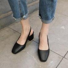 Elegant Vintage Shoes Women Low Heels Shoes