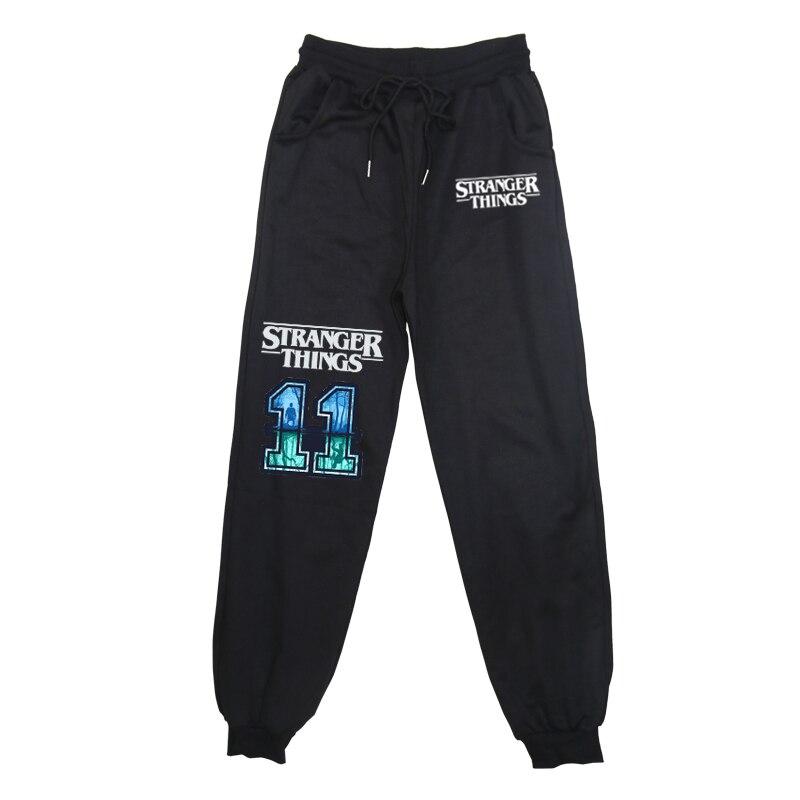 Stranger Things Elastic Children Sports Pants Winter Thick Kids Toddler Cotton Long Pants Boys Girls Trousers Hot
