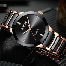 TEVISE Man Watch New Luxury Brand Quartz Wristwatch