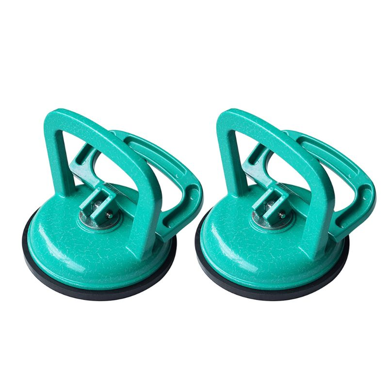 Glass Suction Cup Heavy Duty Aluminum Vacuum Puller Handle Hooks To To Lifting NEW