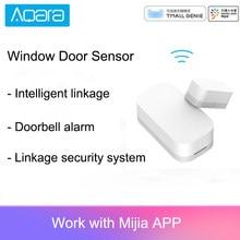 Aqara inteligente janela sensor de porta zigbee conexão sem fio multi-purpose trabalho com mijia casa inteligente/mihome app