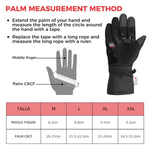 Image 5 - KEMiMOTO NEW 2020 Winter Motorcycle Gloves Protective Touch Screen Waterproof Windproof Warm Gloves Men Women Guantes Moto Luvas