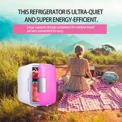 Мини Портативный 4L охлаждающий холодильник морозильник теплый плед для авто автомобиля для дома офиса улицы пикника путешествия