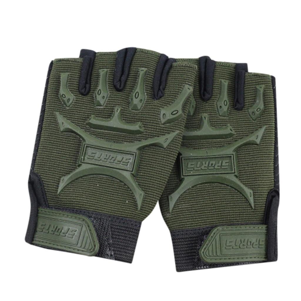 Children Sport Gloves for Training with Wrist Support for Fitness winter guantes tactical gloves handschoenen fingerless luvas 3