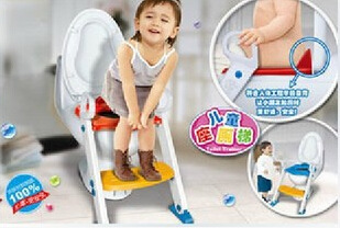 Potty Chair Zuo Bian Deng Foldable Baby Toilet BanBao 9211 Children Toilet Chair Stairs Toilet Seat-