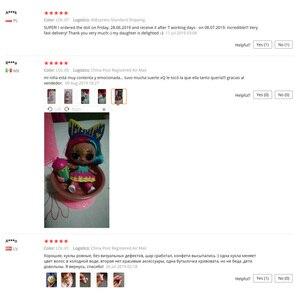 Оригинал лол Surprise красивая кукла для волос 5 поколение DIY Ручная глухая коробка модная модель Кукла девочка игрушка ребенок Рождественский подарок