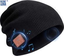 Beanie hat bluetooth наушники беспроводное v 50 вязаное музыкальное