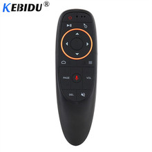 Kebidu G10S G20S G30S Gyro Voice Remote Control IR Learning 2.4G Wireless Fly Air Mouse for Android TV Box for Mini H96 MAX X99