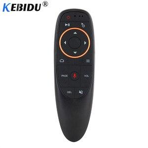 Image 1 - Пульт дистанционного управления Kebidu G10S G20S G30S, гироскоп, голосовое дистанционное управление, ИК обучение, 2,4G Беспроводная воздушная мышь для Android TV Box для Mini H96 MAX X99