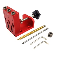 Woodworking Inclined Hole Locator Hole Drilling Guide Kit for Drilling Inclined Hole|Drill Bits|   -