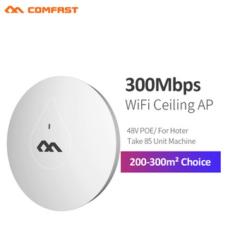 COMFAST CF-E350N Through Wall Powerful 300M Indoor Ceiling AP 48V Poe Adapter Wifi Router Access Poi