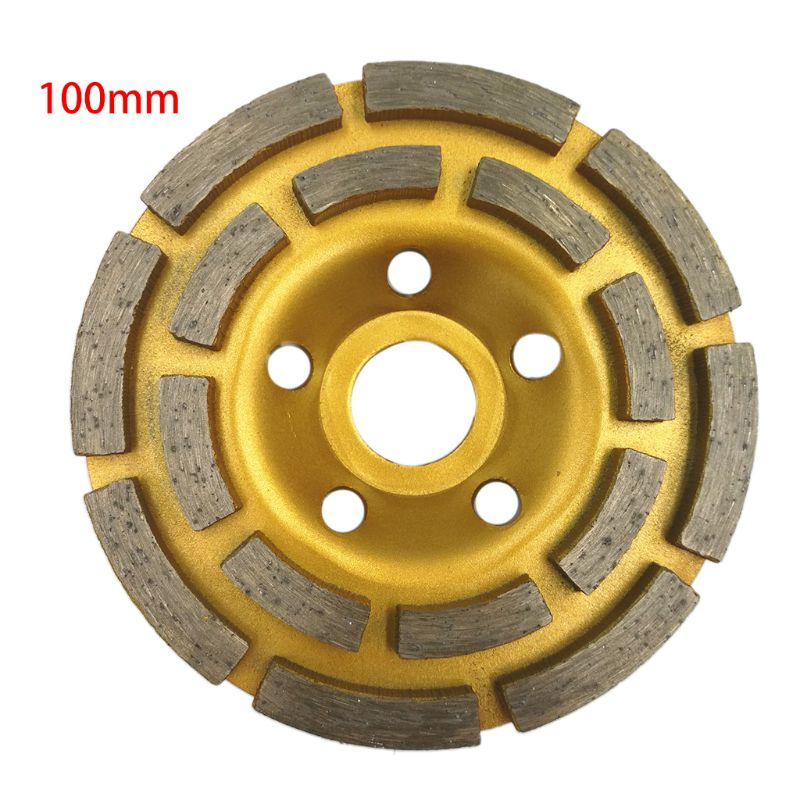 Diamond Segment Grinding Wheel Cup Disc Grinder Concrete Granite Stone Cut
