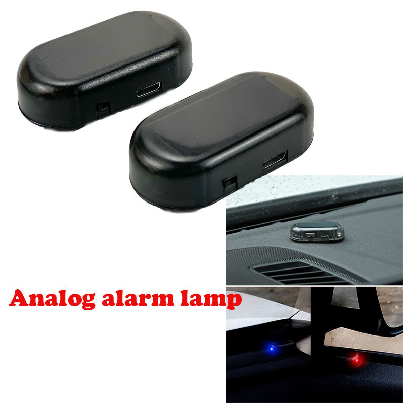 Solar Powered Anti-Theft Caution Lamp For Toyota SIENTA Vellfire Verso PROACE Hilux Tacoma Tundra 4Runner FT-EV FT-HT FT-AC AYGO