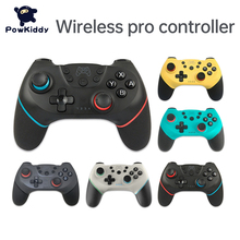 Wireless Bluetooth Pro Controller For NS Switch Pro Video Game Gamepad USB Joystick Control For Switch Console With 6-Axis