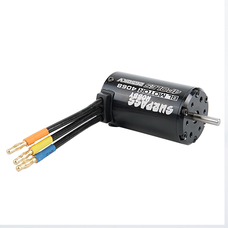 SURPASS HOBBY 4068 2650KV 4P Sensorless Brushless Motor for 1/8 <font><b>RC</b></font> <font><b>Racing</b></font> <font><b>Car</b></font> <font><b>Truck</b></font> Truggy On Road image