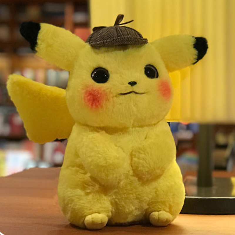 28cm-Pikachu-Plush-Toy-Stuffed-Toy-Detective-Pikachu-Japan-Movie-Anime-Toys-for-Children-Doll-for (3)