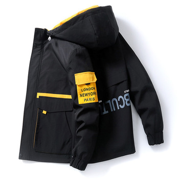 2021 Spring Work Men's Jacket New Trend Casual Wear Street Autumn Thin Coat Short Jackets Style for Men Clothes M-3XL Size 1