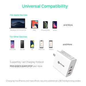 Image 4 - 60W TYPE C USB C Sạc Tường, PD30W QC3.0 Sạc Dành Cho S10 USB C Laptop MacBook Pro/Air Ipad PRO iPhone 11 (Và USB C Cáp)