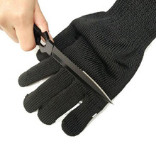 1Pair Anti-cut Gloves Outdoor Camping Fishing Hunting Stainless Steel Emergency Protector Gloves Survival Kits Medical Supplies