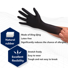 100/50PCS rubber gloves Kitchen/Medical /Rubber/Garden Gloves Universal For Left and Right Hand disposable medical latex gloves
