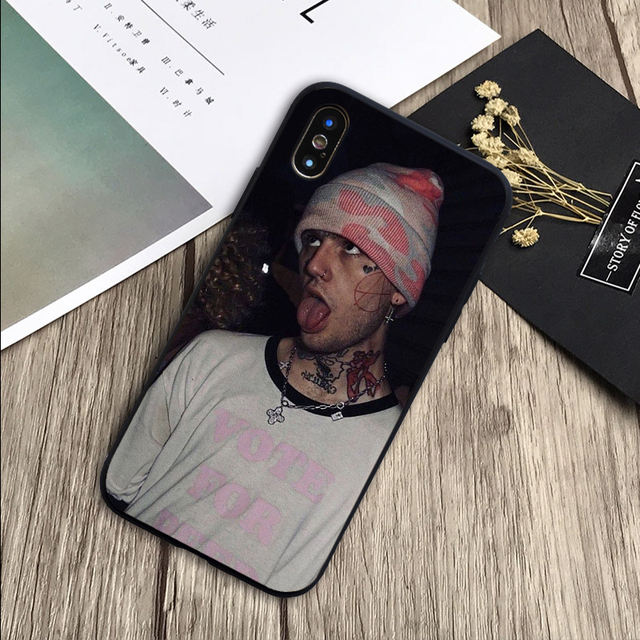 LIL PEEP THEMED IPHONE CASE (12 VARIAN)