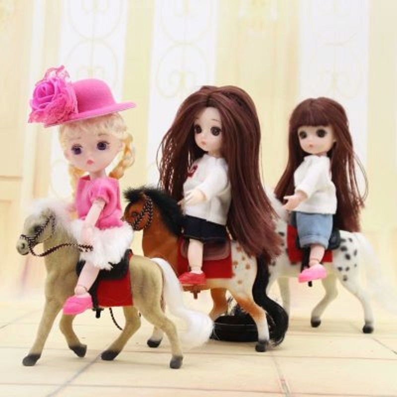 New 13 Joint Bjd Doll Toy 1/12 16cm Bjd Doll Toy Original Girls Princess Dolls Lovely Kids Gift Baby Toys For Girls