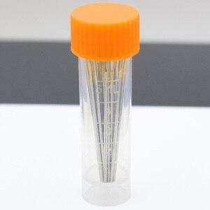 Beruf Leder Nähen Nadel für Stickerei Nähte Liefert Handwerk Pin, Runde Stumpfen Kopf Big Eye Lagerung Flasche Nadeln