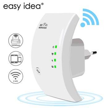EASYIDEA WIFI Repetidor Inalámbrico Wifi Antena Amplificador de Señal Extensor de Red...